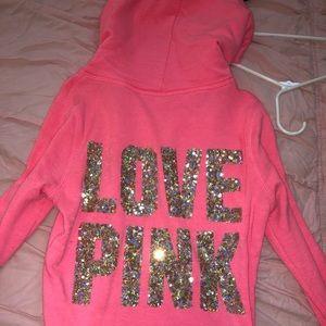 Hot pink Victoria secret PINK jacket